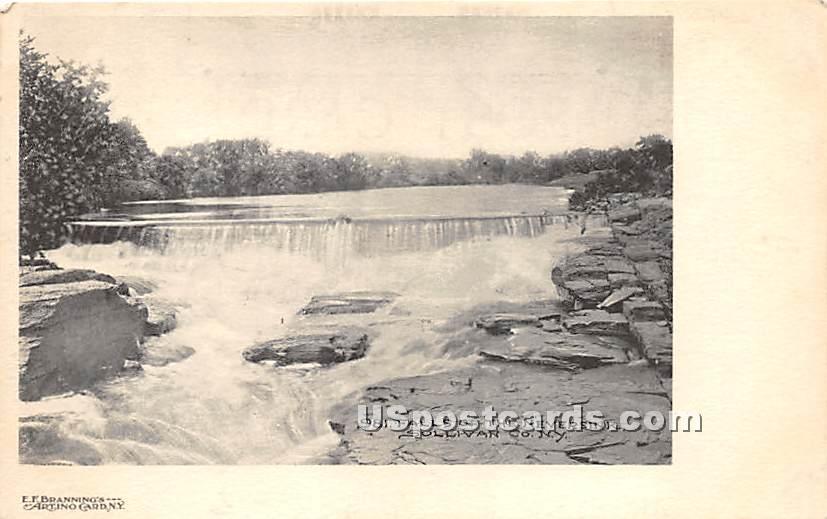 Falls of the Neversink - New York NY Postcard