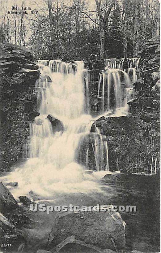 Glen Falls - Neversink, New York NY Postcard