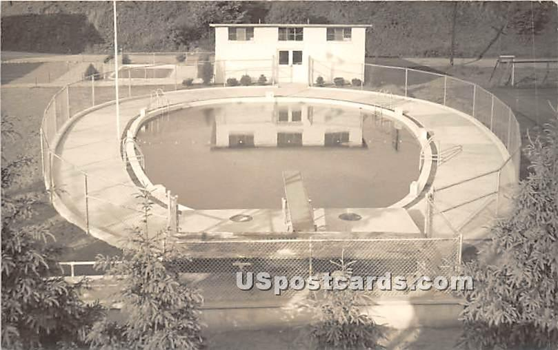 Swimming Pool - North Branch, New York NY Postcard