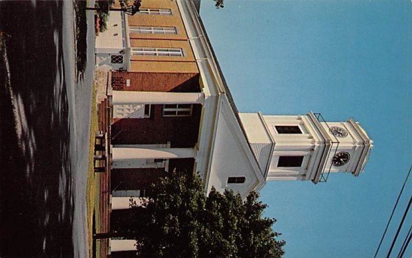 The Reformed Church New Paltz, New York Postcard