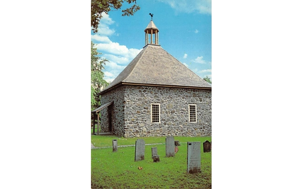 Our French Church 1717 New Paltz, New York Postcard
