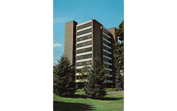 Faculty Office Tower New Paltz, New York Postcard