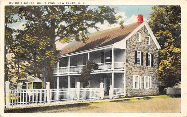 Du Bois House 1705 New Paltz, New York Postcard