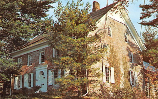 Le Fevre House New Paltz, New York Postcard