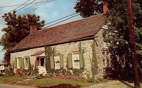 Hugo Freer House New Paltz, New York Postcard