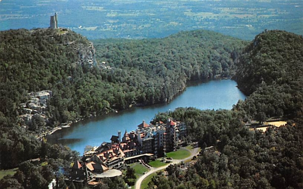 Lake Mohonk New Paltz, New York Postcard