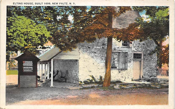 Elting House 1689 New Paltz, New York Postcard