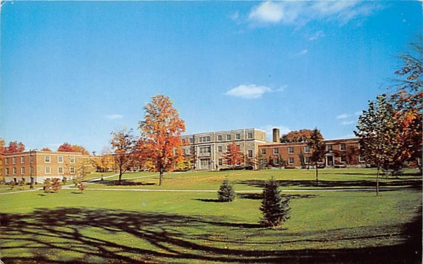 College Union New Paltz, New York Postcard