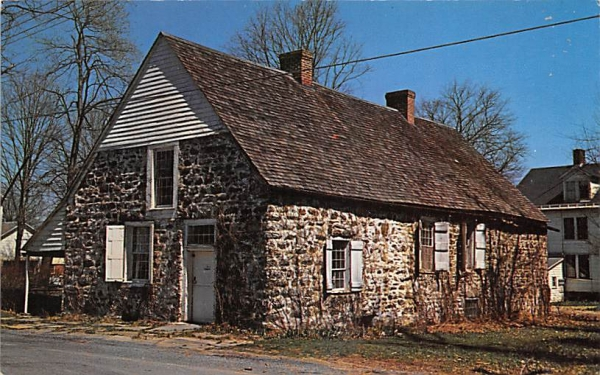 Bevier Elting House New Paltz, New York Postcard