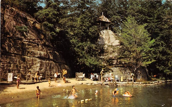 Lake Beach Mohonk Mt House New Paltz, New York Postcard