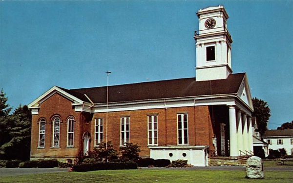 Reformed Church New Paltz, New York Postcard