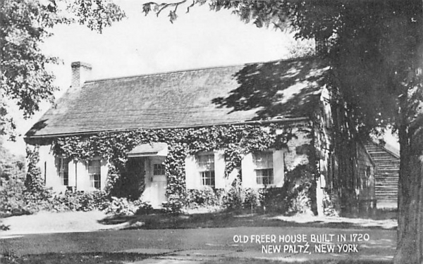 Old Freer House New Paltz, New York Postcard