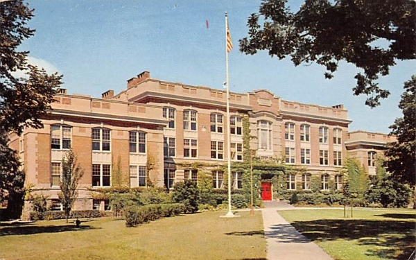 Main Building State University College New Paltz, New York Postcard