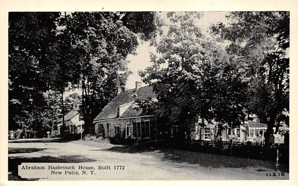 Abraham Hasbrouck House New Paltz, New York Postcard