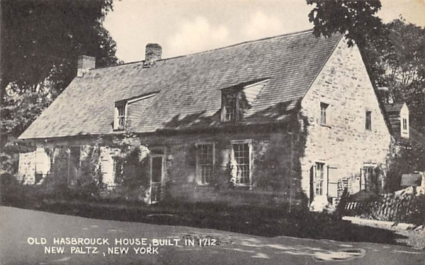 Old Hasbrough House New Paltz, New York Postcard