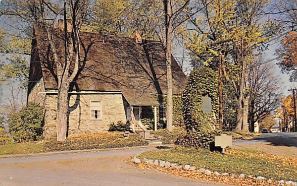 Huguenot Museum New Paltz, New York Postcard