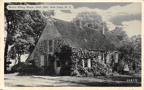 Beyier Elting House 1698 New Paltz, New York Postcard