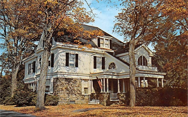 Devo House New Paltz, New York Postcard