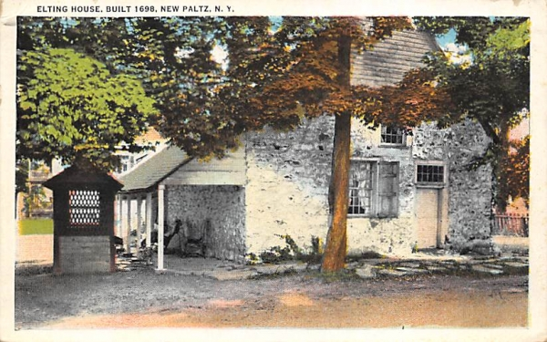Eliting House 1698 New Paltz, New York Postcard