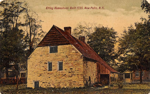 Elting Homestead1735 New Paltz, New York Postcard