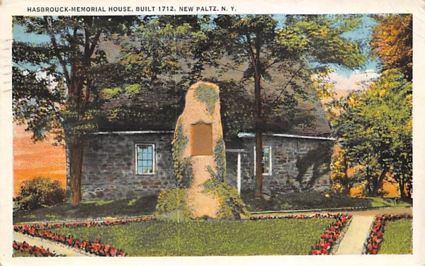 Hasbrouck House New Paltz, New York Postcard