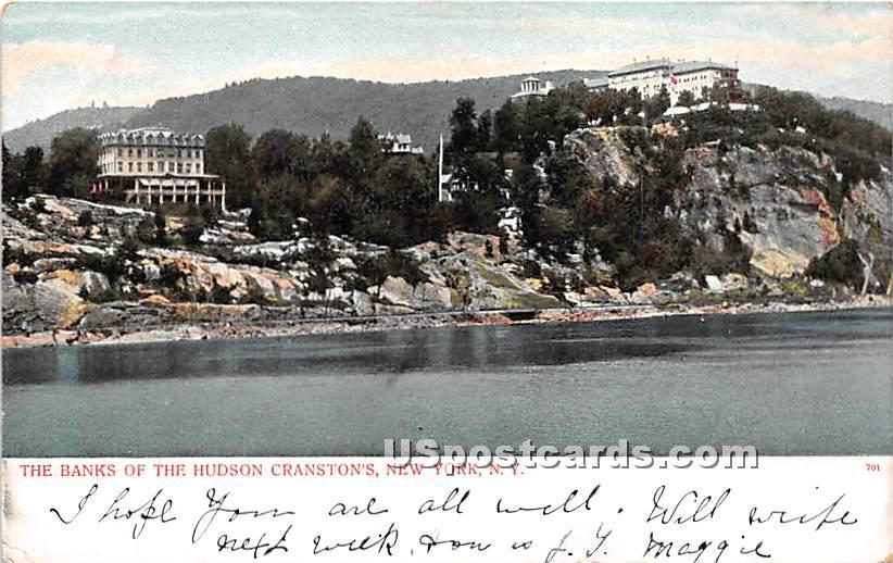 Banks, Hudson Cranston's - New York City Postcards, New York NY Postcard