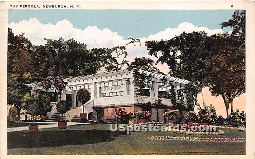 The Pergola - Newburgh, New York NY Postcard