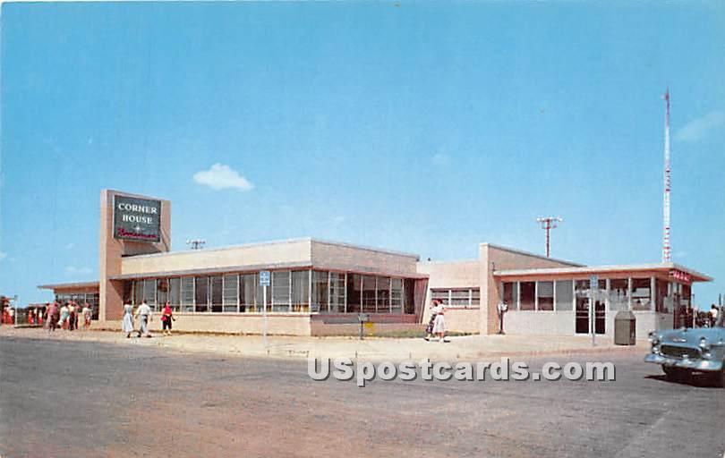 Corner House Restaurant & Gift Shop - New York State Thruway Postcards, New York NY Postcard