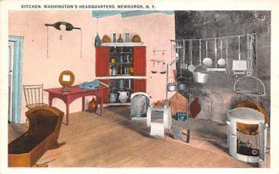 Kitchen Newburgh, New York Postcard