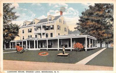 Lakeside House Newburgh, New York Postcard