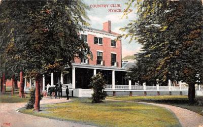 Country Club Nyack, New York Postcard