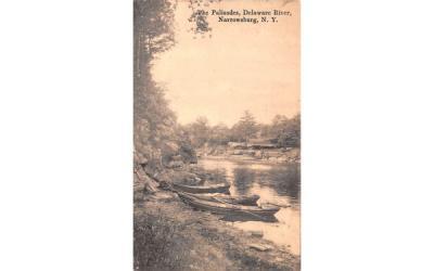 The Palisades Narrowsburg, New York Postcard