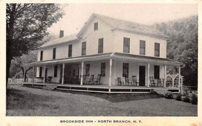 Brookside Inn North Branch, New York Postcard