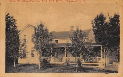 296b Woodland Cottage Napanoch, New York Postcard