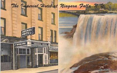 Imperial Hotel Niagara Falls, New York Postcard