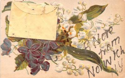 A Note From Norwich, New York Postcard