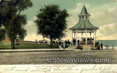 Cottage Hotel - Ontario Beach, New York NY Postcard