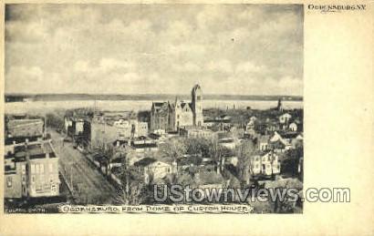Ogdensburg, New York, NY Postcard