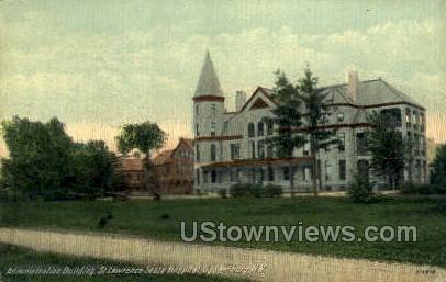 St. Lawrence State Hospital - Ogdensburg, New York NY Postcard