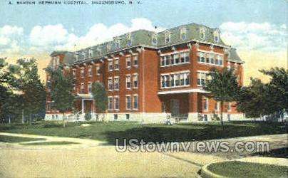 A. Barton Hepburn Hospital - Ogdensburg, New York NY Postcard