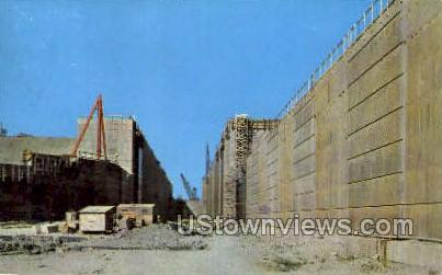 St. Lawrence River Seaway - Ogdensburg, New York NY Postcard