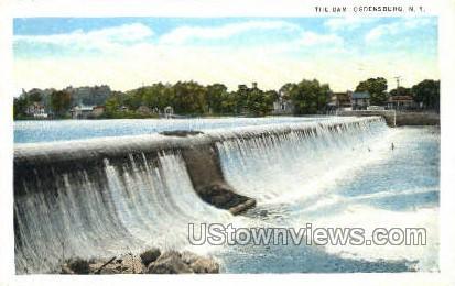 The Dam - Ogdensburg, New York NY Postcard