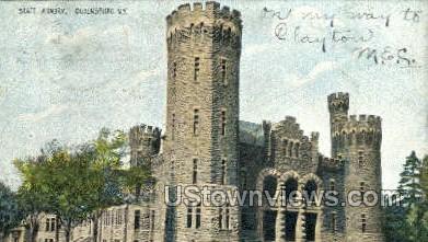 State Armory - Ogdensburg, New York NY Postcard