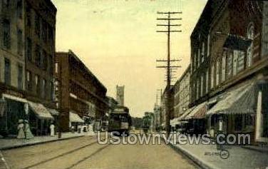 Ford St. - Ogdensburg, New York NY Postcard