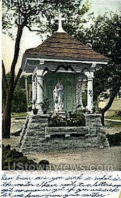 Shrine of Our Lady of Victory - Ogdensburg, New York NY Postcard