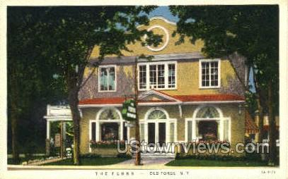 The Ferns - Old Forge, New York NY Postcard