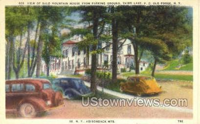 Bald Mtn House - Old Forge, New York NY Postcard