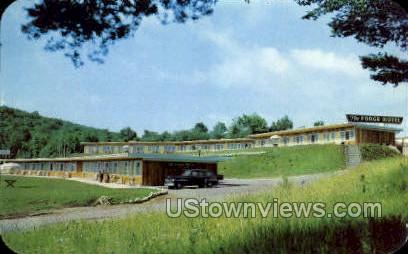 The Forge Motel - Old Forge, New York NY Postcard