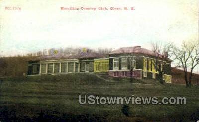 Hamilton Country Club - Olean, New York NY Postcard