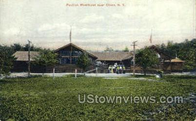 Pavilion Riverhurst - Olean, New York NY Postcard